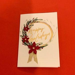 NIB Papyrus Christmas cards, box of 8